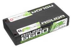 PK Racing - PK-200-004 - Li-HV ASUGA +100C - 3.8V 1S - 6600mAh - Hardcase 1S - 4mm Bullet- EFRA BRCA