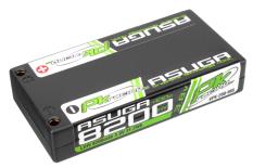PK Racing - PK-200-005 - Li-HV ASUGA +100C - 3.8V 1S - 8200mAh - Hardcase 1S - 4mm Bullet- EFRA BRCA