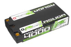 PK Racing - PK-200-008 - Li-HV ASUGA +100C - 7.6V 2S - 4000mAh - Hardcase SLCG Shorty 2S - 5mm Bullet- EFRA BRCA