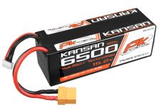 PK Racing - PK-200-228 - Li-HV KANSAN 120C - 15.2V 4S - 6500mAh - Hardcase 4S - Hard Wire - XT90 - EFRA BRCA