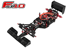 Team Corally - C-00120 - FSX-10 Car Kit - Chassis kit only - no electronics - no motor - no body - no tires