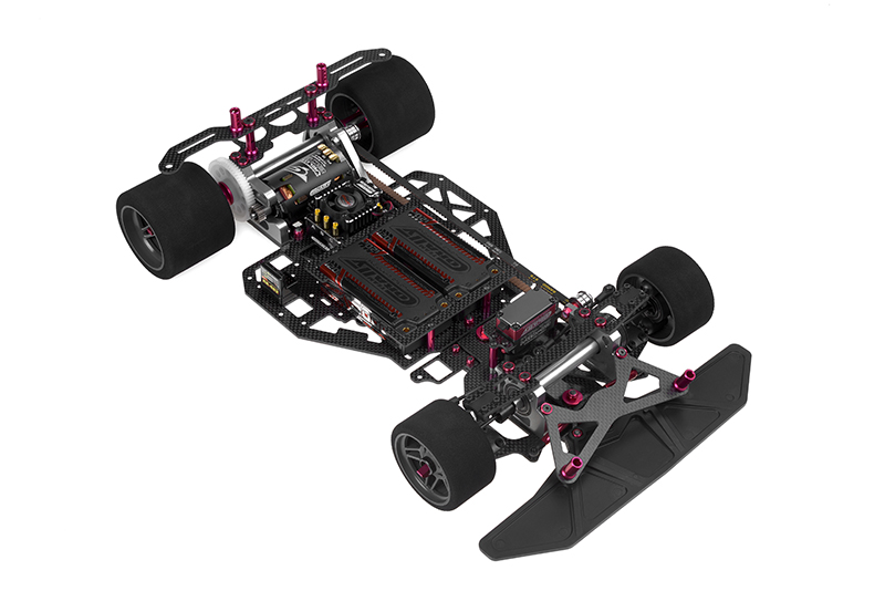 Team Corally - C-00132 - SSX-8X Car Kit - Chassis kit only, no electronics, no motor, no body, no tires