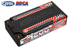 Team Corally - C-49500 - Voltax 120C LiPo Battery - 4200mAh - 7.4V - LCG Shorty 2S - 4mm Bullit