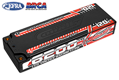 Team Corally - C-49510 - Voltax 120C LiPo Battery - 6200mAh - 7.4V - LCG Stick 2S - 4mm Bullit