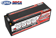 Team Corally - C-49530 - Voltax 120C LiPo Battery - 6500mAh - 14.8V - Stick 4S - 5mm Bullit