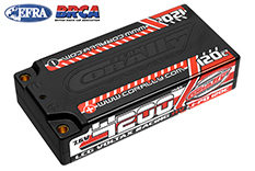 Team Corally - C-49600 - Voltax 120C LiPo HV Battery - 4200 mAh - 7.6V - LCG Shorty 2S - 4mm Bullit