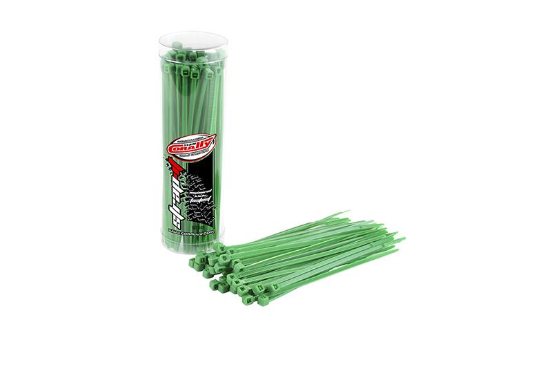 Team Corally - C-50502 - Strap-it - Cable Tie Raps - Green - 2.5x100mm - 50 pcs