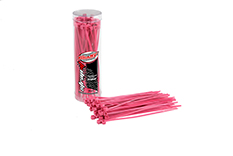 Team Corally - C-50504 - Strap-it - Cable Tie Raps - Pink - 2.5x100mm - 50 pcs