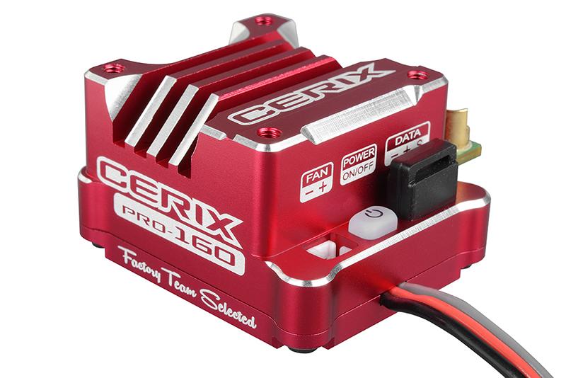 """Team Corally - C-53003 - Cerix PRO 160 """"Racing Factory"""" - 2-3S Esc For Sensored And Sensorless Motors - 160A"""