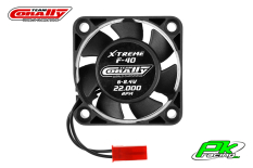 Team Corally - C-53103 - ESC Ultra High Speed Cooling Fan 40mm - 6v-8,4V - Dual ball bearings - BEC connector