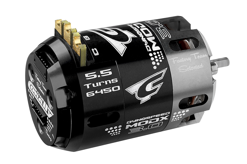 Team Corally - C-61002 - Dynospeed MODX 3.0 - 1/10 Sensored 2-Pole Competition Brushless Motor - Modified - 5.5 Turns - 6450 KV