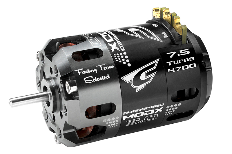 Team Corally - C-61004 - Dynospeed MODX 3.0 - 1/10 Sensored 2-Pole Competition Brushless Motor - Modified - 7.5 Turns - 4700 KV