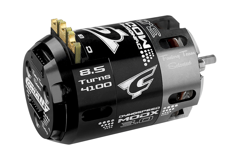 Team Corally - C-61005 - Dynospeed MODX 3.0 - 1/10 Sensored 2-Pole Competition Brushless Motor - Modified - 8.5 Turns - 4100 KV