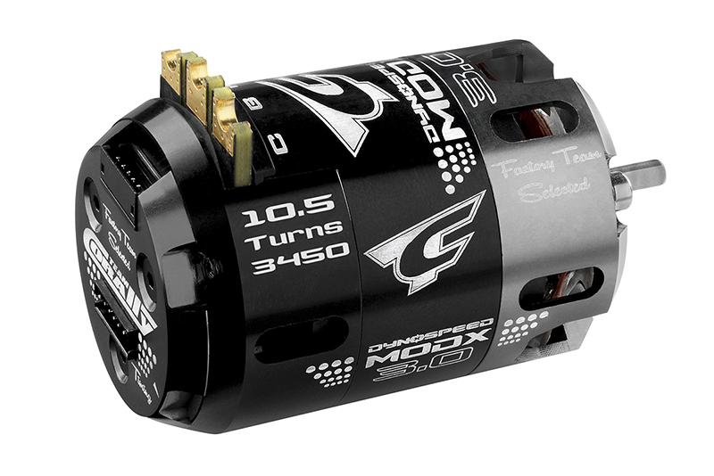 Team Corally - C-61007 - Dynospeed MODX 3.0 - 1/10 Sensored 2-Pole Competition Brushless Motor - Modified - 10.5 Turns - 3450 KV