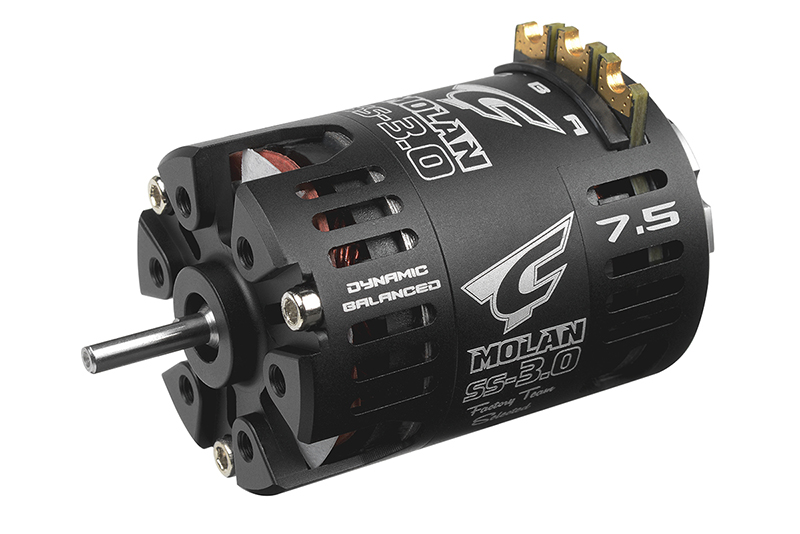 Team Corally - C-61054 - MOLAN SS-3.0 - 1/10 Sensored 2-Pole Competition Brushless Motor - Modified - 7.5 Turns - 4800 KV