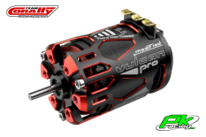 Team Corally - C-61076 - VULCAN PRO Modified - 1/10 Sensored Competition Brushless Motor - 9.5 Turns - 3700 KV