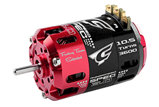 Team Corally - C-61100 - Dynospeed SPEC 3.0 - 1/10 Sensored 2-Pole Competition Brushless Motor - Stock - 10.5 Turns - 3600 KV