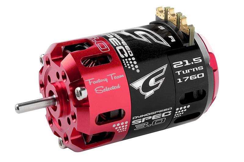 Team Corally - C-61103 - Dynospeed SPEC 3.0 - 1/10 Sensored 2-Pole Competition Brushless Motor - Stock - 21.5 Turns - 1760 KV
