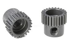 Team Corally - C-70323 - 64 DP Pinion - Short - Hard Anodised AL7075 - 23 Teeth - Shaft Dia. 3.17mm