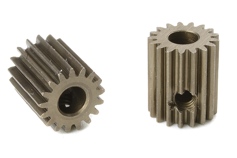 Team Corally - C-71317 - 64 DP Pinion - Short - Hardened Steel - 17 Teeth - Shaft Dia. 3.17mm