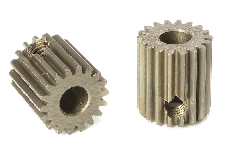 Team Corally - C-71318 - 64 DP Pinion - Short - Hardened Steel - 18 Teeth - Shaft Dia. 3.17mm