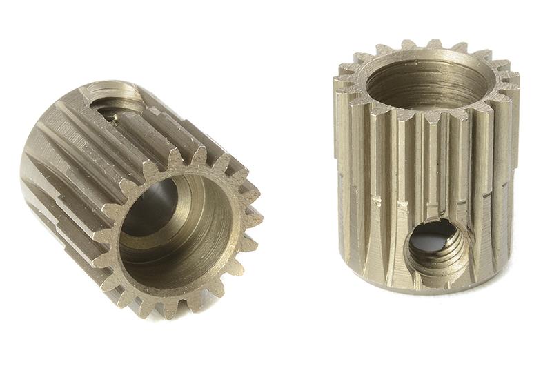 Team Corally - C-71319 - 64 DP Pinion - Short - Hardened Steel - 19 Teeth - Shaft Dia. 3.17mm