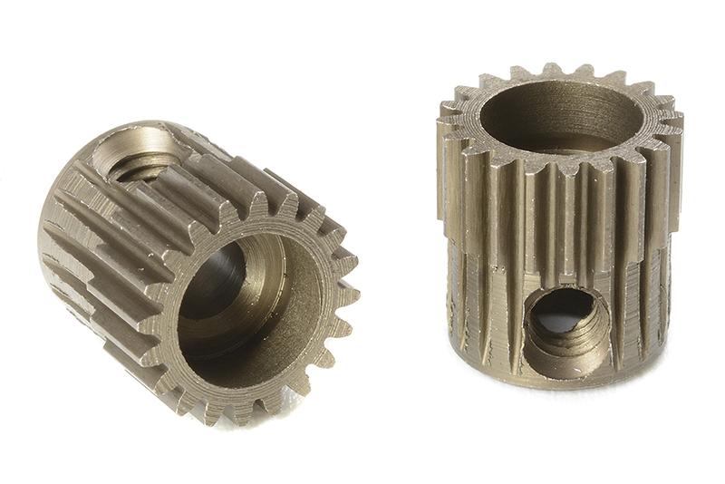Team Corally - C-71320 - 64 DP Pinion - Short - Hardened Steel - 20 Teeth - Shaft Dia. 3.17mm