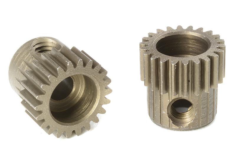 Team Corally - C-71322 - 64 DP Pinion - Short - Hardened Steel - 22 Teeth - Shaft Dia. 3.17mm