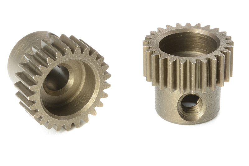 Team Corally - C-71325 - 64 DP Pinion - Short - Hardened Steel - 25 Teeth - Shaft Dia. 3.17mm