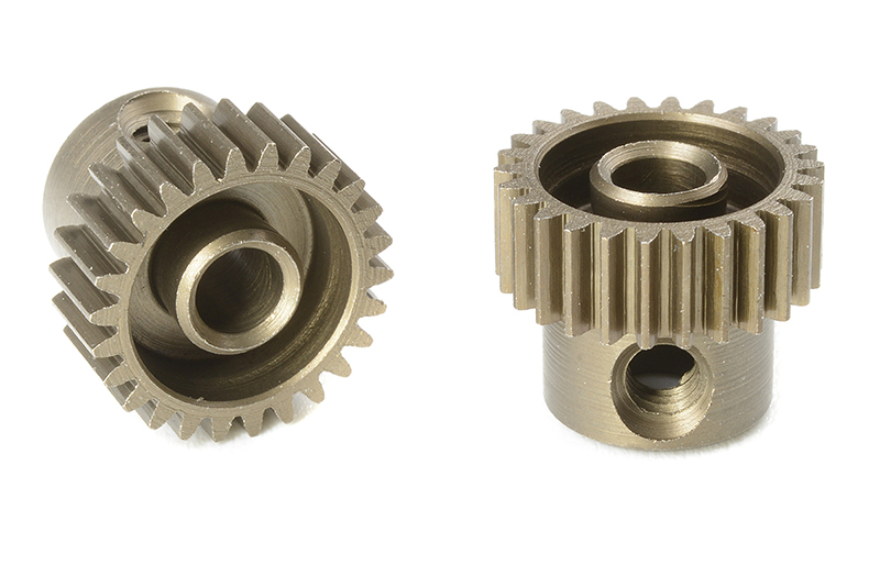 Team Corally - C-71326 - 64 DP Pinion - Short - Hardened Steel - 26 Teeth - Shaft Dia. 3.17mm
