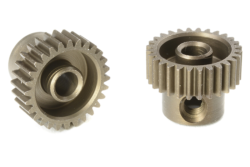 Team Corally - C-71328 - 64 DP Pinion - Short - Hardened Steel - 28 Teeth - Shaft Dia. 3.17mm