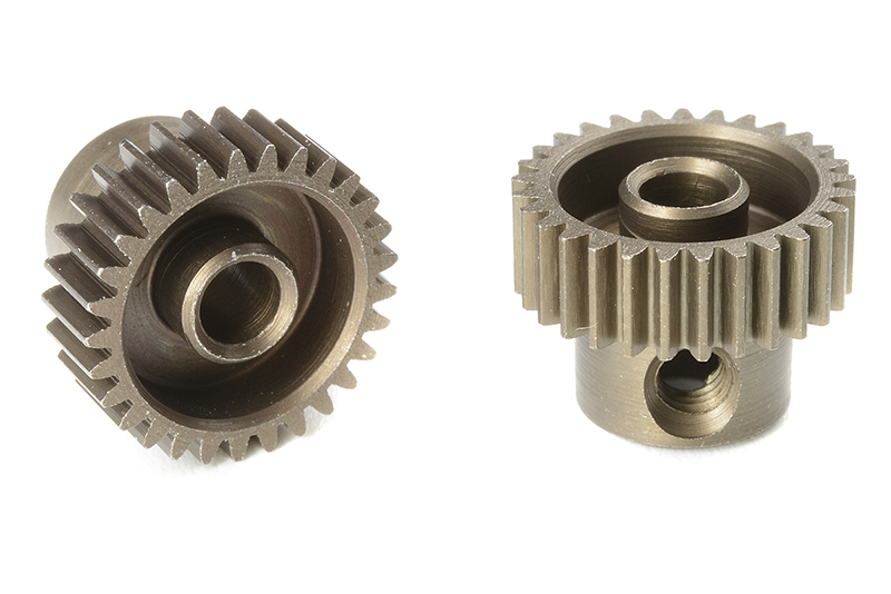 Team Corally - C-71329 - 64 DP Pinion - Short - Hardened Steel - 29 Teeth - Shaft Dia. 3.17mm