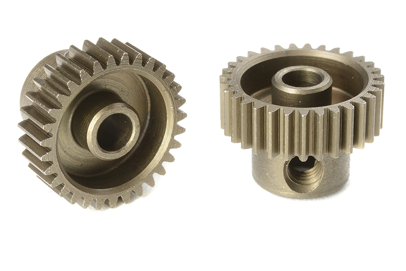 Team Corally - C-71331 - 64 DP Pinion - Short - Hardened Steel - 31 Teeth - Shaft Dia. 3.17mm