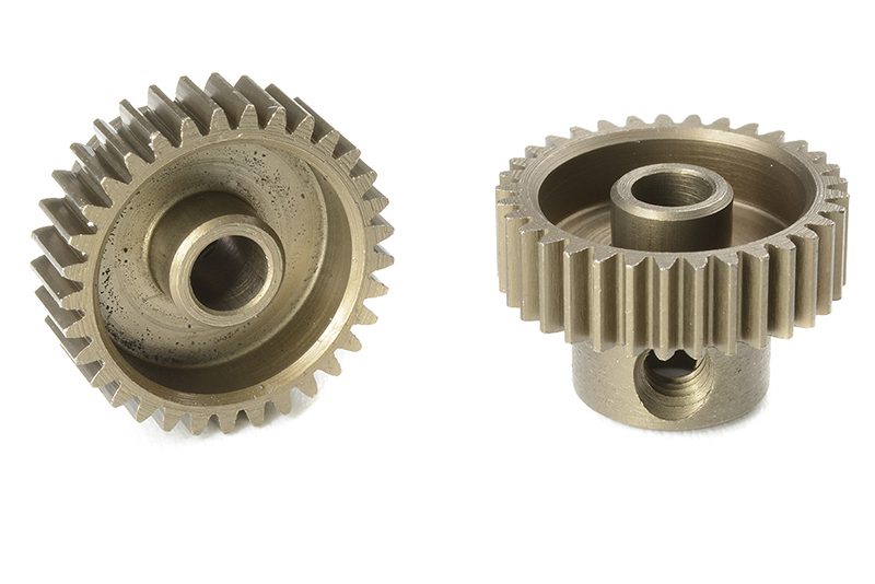 Team Corally - C-71333 - 64 DP Pinion - Short - Hardened Steel - 33 Teeth - Shaft Dia. 3.17mm