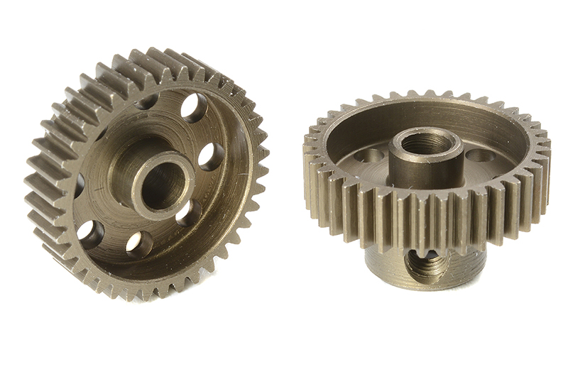 Team Corally - C-71338 - 64 DP Pinion - Short - Hardened Steel - 38 Teeth - Shaft Dia. 3.17mm