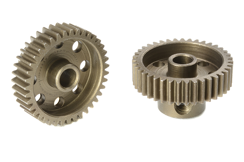 Team Corally - C-71339 - 64 DP Pinion - Short - Hardened Steel - 39 Teeth - Shaft Dia. 3.17mm