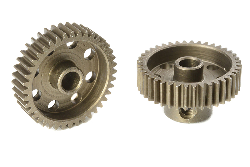 Team Corally - C-71340 - 64 DP Pinion - Short - Hardened Steel - 40 Teeth - Shaft Dia. 3.17mm