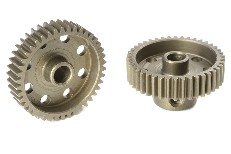 Team Corally - C-71342 - 64 DP Pinion - Short - Hardened Steel - 42 Teeth - Shaft Dia. 3.17mm