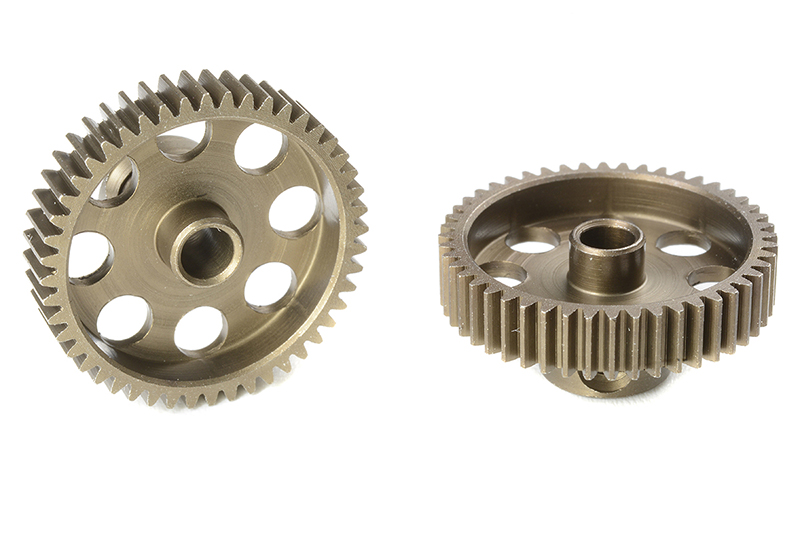 Team Corally - C-71348 - 64 DP Pinion - Short - Hardened Steel - 48 Teeth - Shaft Dia. 3.17mm