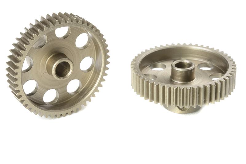 Team Corally - C-71350 - 64 DP Pinion - Short - Hardened Steel - 50 Teeth - Shaft Dia. 3.17mm