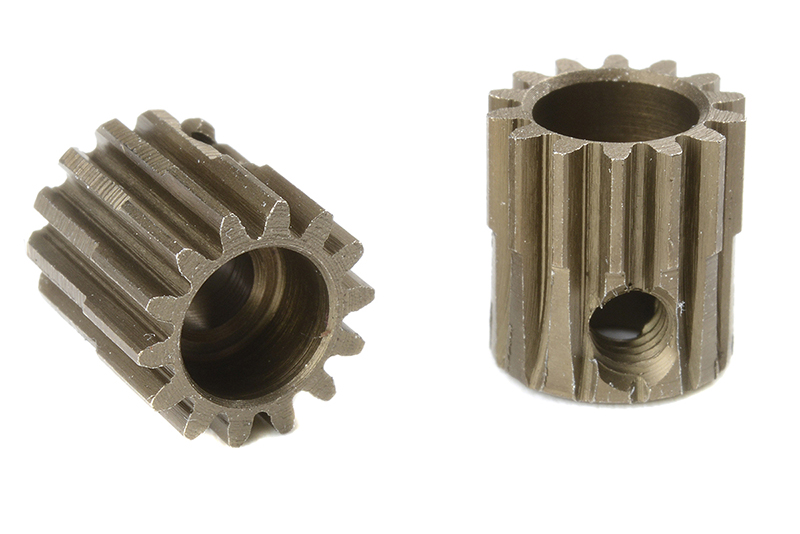 Team Corally - C-71414 - 48 DP Pinion - Short - Hardened Steel - 14 Teeth - Shaft Dia. 3.17mm
