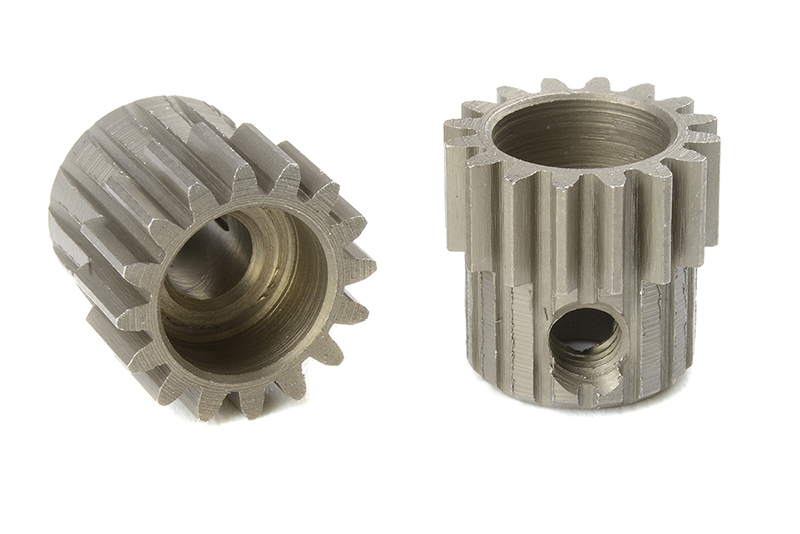 Team Corally - C-71416 - 48 DP Pinion - Short - Hardened Steel - 16 Teeth - Shaft Dia. 3.17mm