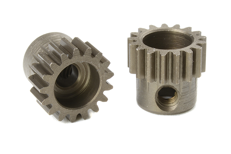 Team Corally - C-71417 - 48 DP Pinion - Short - Hardened Steel - 17 Teeth - Shaft Dia. 3.17mm