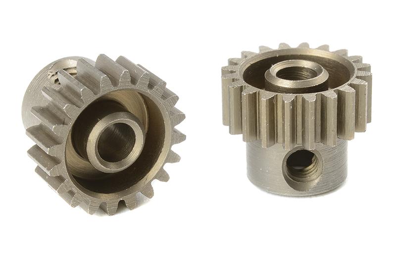 Team Corally - C-71420 - 48 DP Pinion - Short - Hardened Steel - 20 Teeth - Shaft Dia. 3.17mm