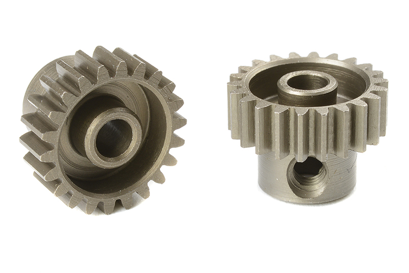 Team Corally - C-71422 - 48 DP Pinion - Short - Hardened Steel - 22 Teeth - Shaft Dia. 3.17mm