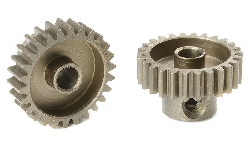 Team Corally - C-71426 - 48 DP Pinion - Short - Hardened Steel - 26 Teeth - Shaft Dia. 3.17mm