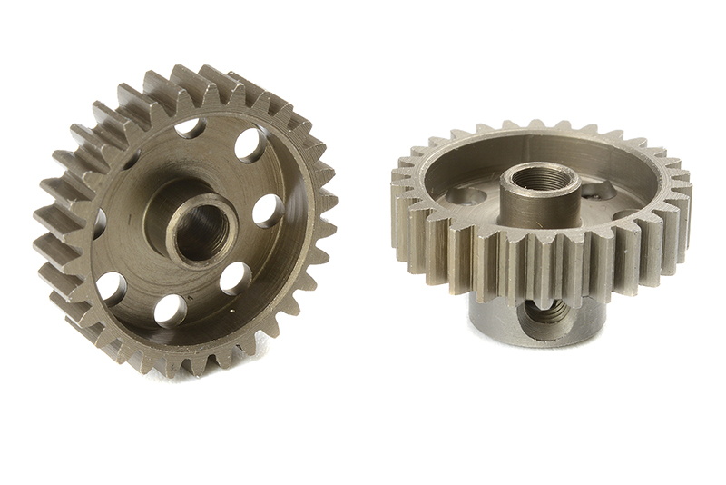 Team Corally - C-71430 - 48 DP Pinion - Short - Hardened Steel - 30 Teeth - Shaft Dia. 3.17mm