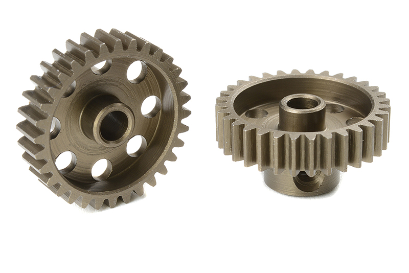 Team Corally - C-71432 - 48 DP Pinion - Short - Hardened Steel - 32 Teeth - Shaft Dia. 3.17mm