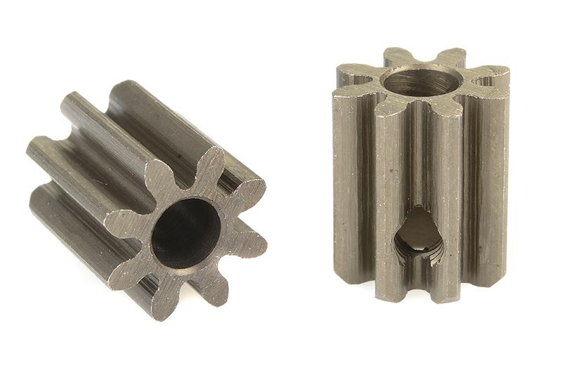 Team Corally - C-71508 - 32 DP Pinion - Short - Hardened Steel - 8 Teeth - Shaft Dia. 3.17mm