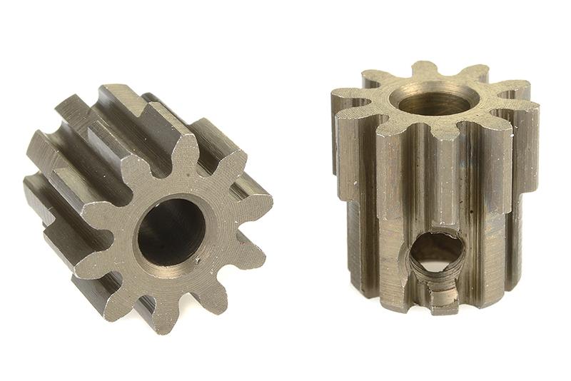 Team Corally - C-71510 - 32 DP Pinion - Short - Hardened Steel - 10 Teeth - Shaft Dia. 3.17mm